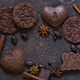 Chocolate Cookies and Candy - PhotoDune Item for Sale