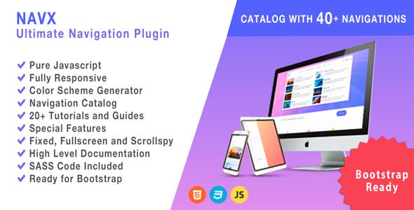 NAVX - Ultimate Navigation Plugin - CodeCanyon Item for Sale