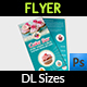 Cake Flyer Shop DL Size Template Vol.6 - GraphicRiver Item for Sale