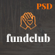 Fundclub - Charity / Nonprofit / Fundraising PSD Template - ThemeForest Item for Sale