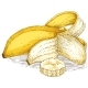 Ripe Yellow Banana - GraphicRiver Item for Sale