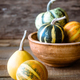 Variety of ornamental pumpkins - PhotoDune Item for Sale