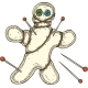 Voodoo Doll with Pins - GraphicRiver Item for Sale
