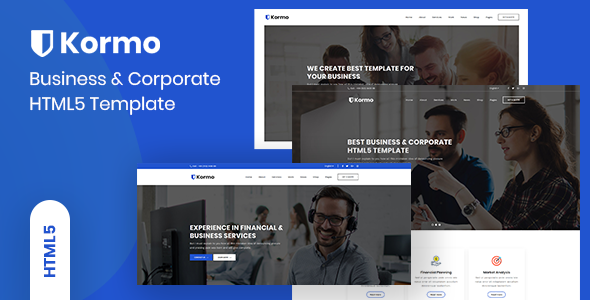 Kormo - Multipurpose Business & Corporate HTML5 Template