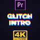 Glitch Intro Mogrt - VideoHive Item for Sale