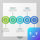 Circle Intersection Timeline Infographics - GraphicRiver Item for Sale