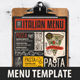 Pizza Food Menu - GraphicRiver Item for Sale