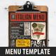 Pizza Food Menu - GraphicRiver Item for Sale