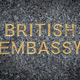 British Embassy Sign - PhotoDune Item for Sale