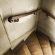Wooden staircase in an old and dirty house - PhotoDune Item for Sale