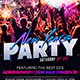 New Years 2019 Party - GraphicRiver Item for Sale