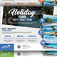 Holiday Tour Flyer - GraphicRiver Item for Sale