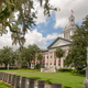 Blue Sky Behind White Clouds Over the State Capitol of Florida in Tallahassee - PhotoDune Item for Sale