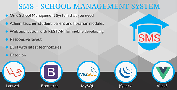 School Management System - SMS - CodeCanyon Item for Sale