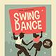 Retro Swing Dance Event Flyer - GraphicRiver Item for Sale