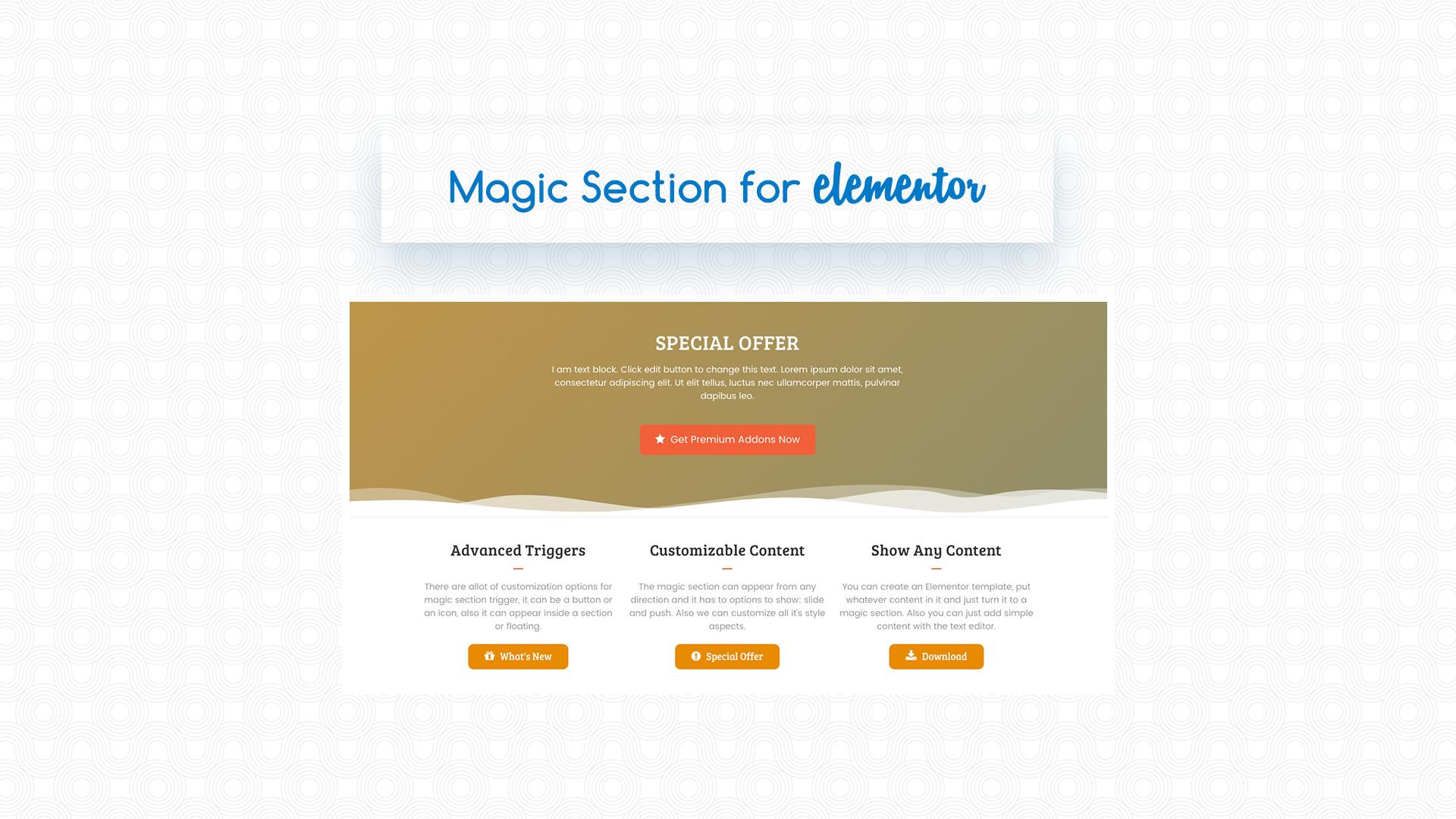 Premium Off-Grid Widgets for Elementor