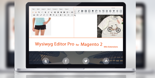 Tinymce 4 - Wysiwyg Editor Pro For Magento 2 - CodeCanyon Item for Sale