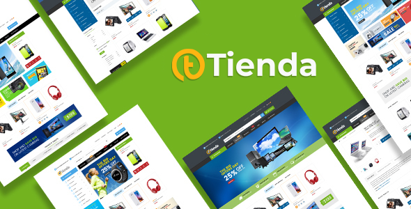 Tienda - Digital Products Store eCommerce Bootstrap 4 Template