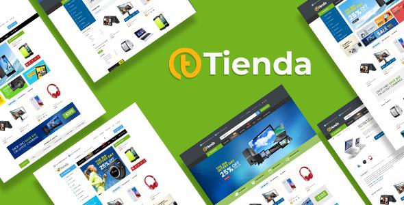 Extraordinary Tienda – Electronics eCommerce HTML Template