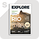 Explore Magazine - GraphicRiver Item for Sale