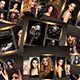 Golden Photo Frame Template - GraphicRiver Item for Sale
