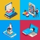 Isometric Online Library - GraphicRiver Item for Sale