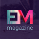 EM - Blog & Magazine Drupal Theme - ThemeForest Item for Sale