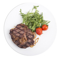 Delicious beef steak with arugula. - PhotoDune Item for Sale