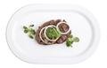 Beef tenderloin with green oil. - PhotoDune Item for Sale