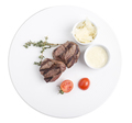 Veal medallions with parmesan. - PhotoDune Item for Sale