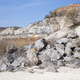 Valley with beautiful view of limestone quarry. - PhotoDune Item for Sale