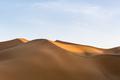 sand dunes illuminated by the setting sun, beautiful desert landscape - PhotoDune Item for Sale