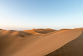 desert landscape in sunset,beautiful lines of sand dunes, clipping path included - PhotoDune Item for Sale