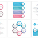Infographics with Hexagons - GraphicRiver Item for Sale