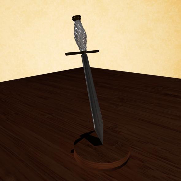 Spiral Handled Dagger