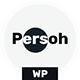 Persoh - One Page Portfolio WordPress Theme - ThemeForest Item for Sale