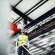 A low angle view of an industrial man engineer standing in a factory. - PhotoDune Item for Sale