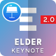 Elder 2.0 – A Project Status Report Keynote Template - GraphicRiver Item for Sale