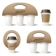 Coffee Cup Holder - GraphicRiver Item for Sale