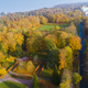 Aerial view of the public park in autumn time  - PhotoDune Item for Sale