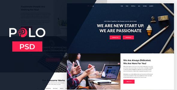 PPLO-Creative Agency Template - Portfolio Creative