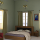 3D Bedroom Interior - 3DOcean Item for Sale