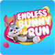 Endless Bunny Run (Endless Game+Android Studio +Admob Ads) - CodeCanyon Item for Sale