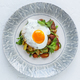 Fried potato topped with sunny side egg - PhotoDune Item for Sale