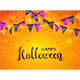 Happy Halloween with Pennants - GraphicRiver Item for Sale