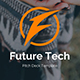 Future Tech Pitch Deck Powerpoint Template - GraphicRiver Item for Sale