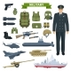Military Man with Weapon and Personal Equipment - GraphicRiver Item for Sale