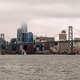 Long Panoramic View San Francisco Bay Bridge City Skyline - PhotoDune Item for Sale