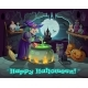 Halloween Witch Pumpkin and Potion Cauldron - GraphicRiver Item for Sale
