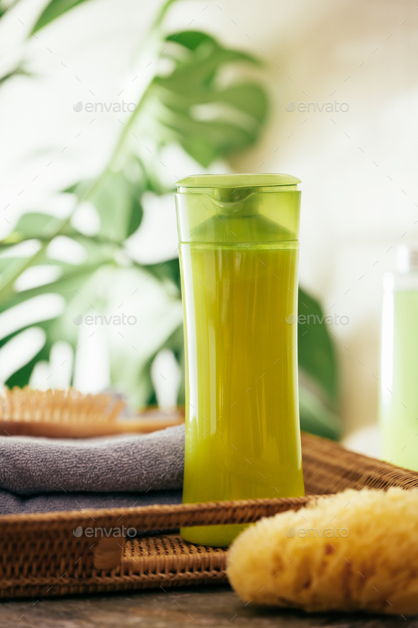 Cosmetic products for hair care - Stock Photo - Images